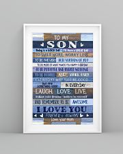 To My Son From Mom 11x17 Poster lifestyle-poster-5
