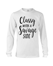 CLASSY WITH A SAVAGE SIZE Long Sleeve Tee thumbnail