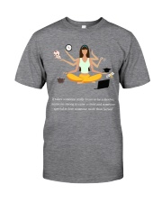 IT TAKES SOMEONE REALLY BRAVE TO BE A MOTHER Classic T-Shirt front