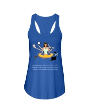 IT TAKES SOMEONE REALLY BRAVE TO BE A MOTHER Ladies Flowy Tank front