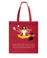IT TAKES SOMEONE REALLY BRAVE TO BE A MOTHER Tote Bag front