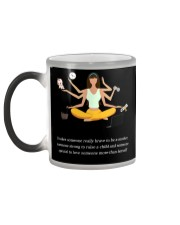 IT TAKES SOMEONE REALLY BRAVE TO BE A MOTHER Color Changing Mug color-changing-left