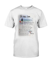 TO MY SON I LOVE YOU Classic T-Shirt thumbnail
