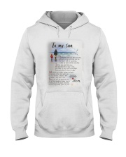 TO MY SON I LOVE YOU Hooded Sweatshirt thumbnail
