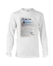 TO MY SON I LOVE YOU Long Sleeve Tee thumbnail