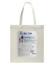 TO MY SON I LOVE YOU Tote Bag thumbnail