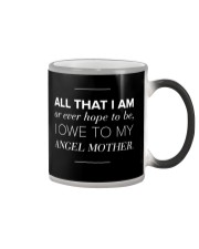 ALL THAT I AM Color Changing Mug tile