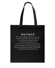 MOTHER Tote Bag front