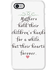 MOTHERS HOLD THEIR CHILDREN'S HANDS FOR A WHILE  Phone Case thumbnail