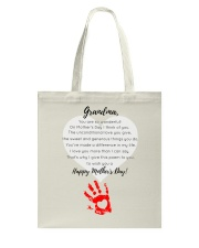 GRANDMA HAPPY MOTHER'S DAY Tote Bag thumbnail
