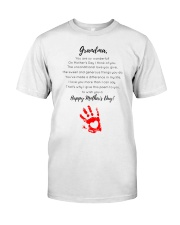 GRANDMA HAPPY MOTHER'S DAY Classic T-Shirt tile