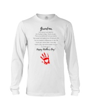 GRANDMA HAPPY MOTHER'S DAY Long Sleeve Tee tile
