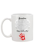GRANDMA HAPPY MOTHER'S DAY Mug back