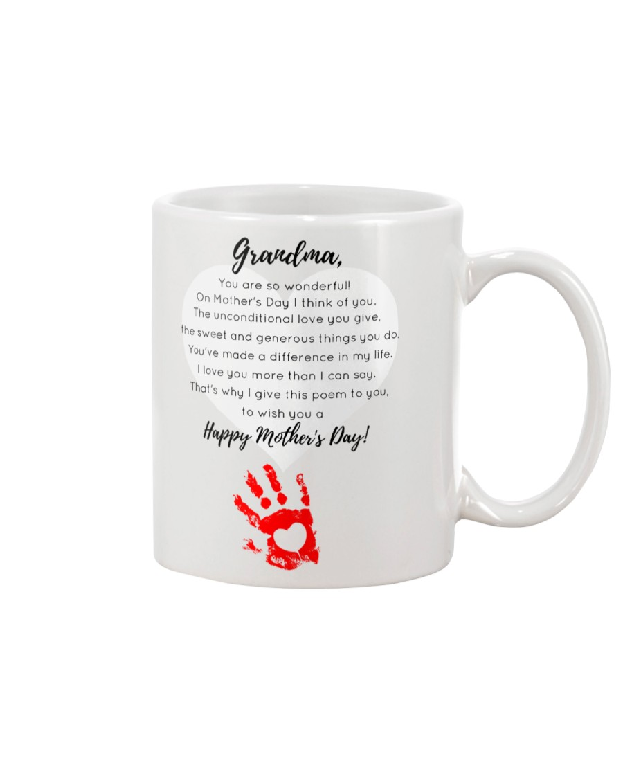 GRANDMA HAPPY MOTHER'S DAY Mug