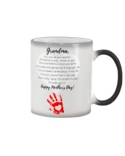 GRANDMA HAPPY MOTHER'S DAY Color Changing Mug tile