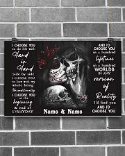 I Choose You 17x11 Poster poster-landscape-17x11-lifestyle-18