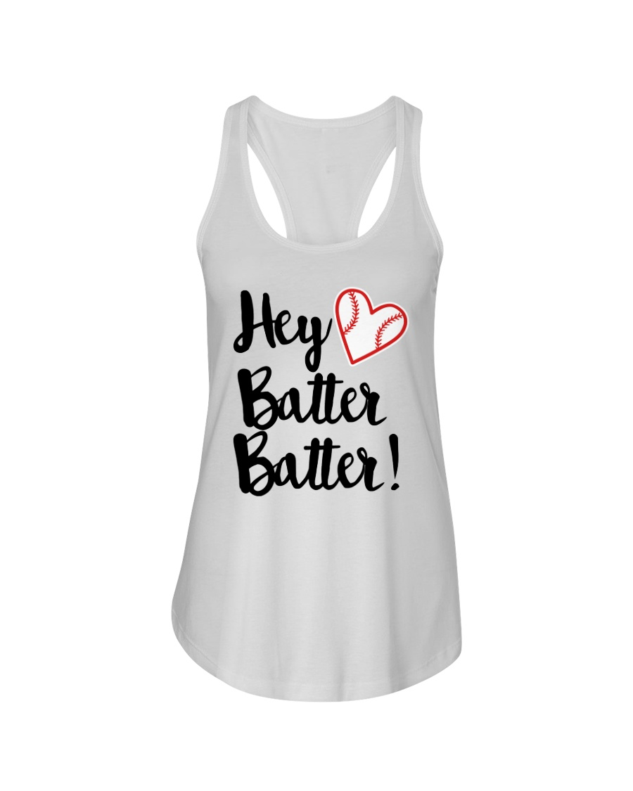 HEY BATTER BATTER Ladies Flowy Tank