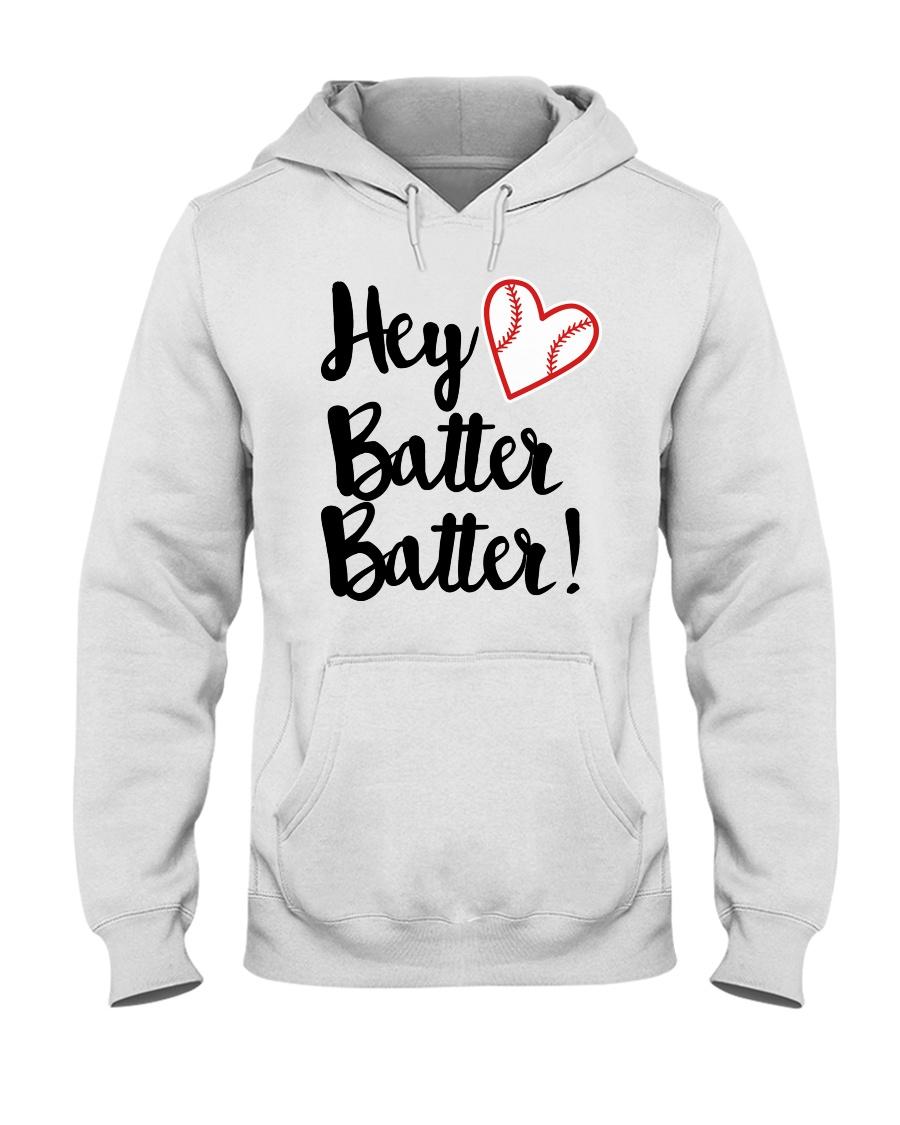 HEY BATTER BATTER Hooded Sweatshirt
