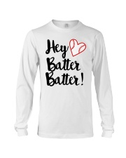 HEY BATTER BATTER Long Sleeve Tee tile
