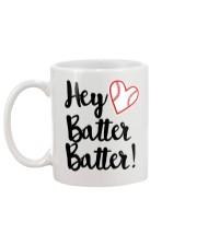 HEY BATTER BATTER Mug back