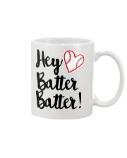 HEY BATTER BATTER Mug tile