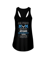 AIR FORCE MOM SOME PEOPLE ONLY DREAM Ladies Flowy Tank thumbnail