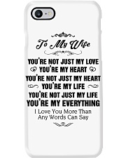 TO MY WIFE Phone Case thumbnail