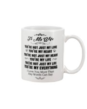TO MY WIFE Mug thumbnail