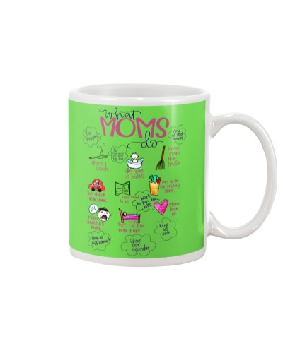 WHAT MOMS