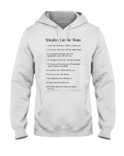 MURPHY'S LAW FOR MOMS Hooded Sweatshirt thumbnail