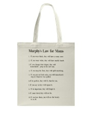 MURPHY'S LAW FOR MOMS Tote Bag thumbnail