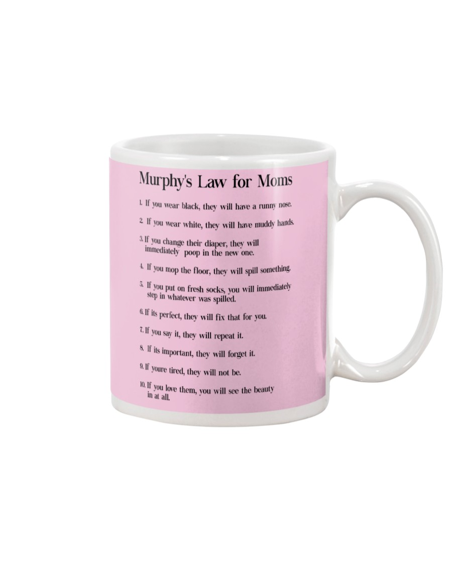 MURPHY'S LAW FOR MOMS Mug