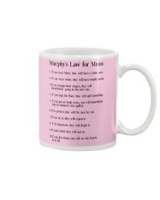 MURPHY'S LAW FOR MOMS Mug front