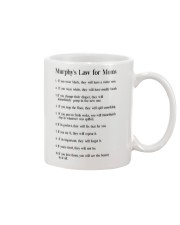 MURPHY'S LAW FOR MOMS Mug thumbnail
