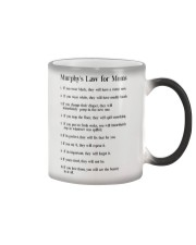 MURPHY'S LAW FOR MOMS Color Changing Mug thumbnail