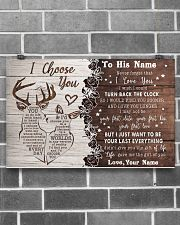 To My Husband From Wife 17x11 Poster poster-landscape-17x11-lifestyle-18