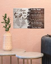 To My Husband From Wife 17x11 Poster poster-landscape-17x11-lifestyle-21