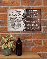 To My Husband From Wife 17x11 Poster poster-landscape-17x11-lifestyle-23
