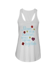 MOMS ARE LIKE BUTTONS THEY HOLD EVERYTHING Ladies Flowy Tank thumbnail