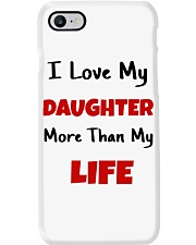 I LOVE MY DAUGHTER MORE THAN MY LIFE Phone Case tile