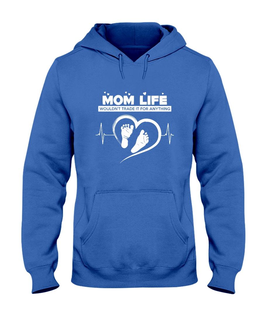 MOM LIFE Hooded Sweatshirt