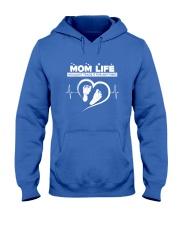 MOM LIFE Hooded Sweatshirt front