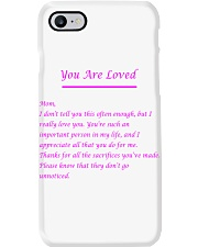YOU ARE LOVED Phone Case thumbnail