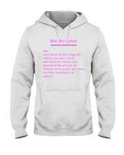 YOU ARE LOVED Hooded Sweatshirt thumbnail