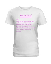 YOU ARE LOVED Ladies T-Shirt thumbnail