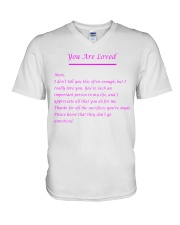 YOU ARE LOVED V-Neck T-Shirt thumbnail