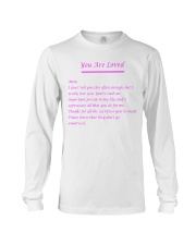 YOU ARE LOVED Long Sleeve Tee thumbnail