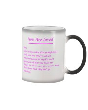 YOU ARE LOVED Color Changing Mug thumbnail