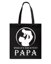 WORLDS GREATEST PAPA Tote Bag thumbnail