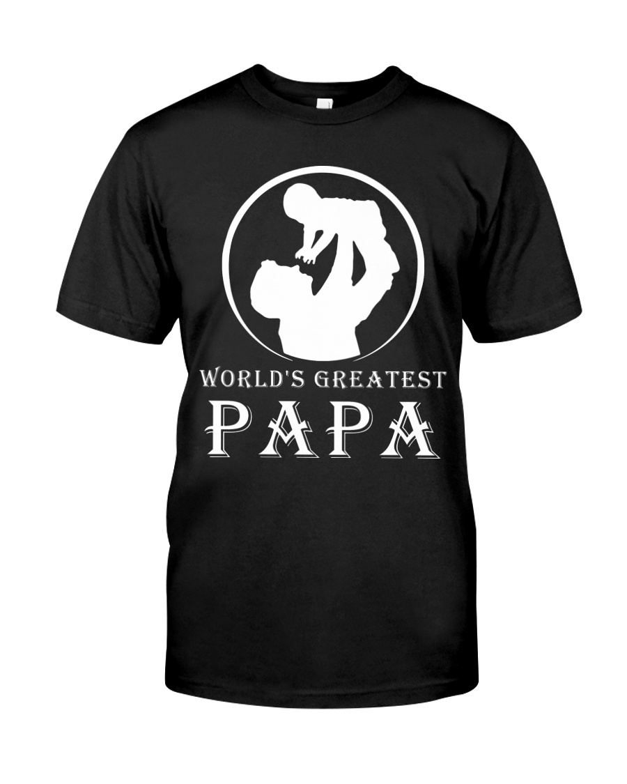 WORLDS GREATEST PAPA Classic T-Shirt